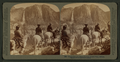 Yosemite Falls, from the Glacier Point Trail, Yosemite Valley, California, by Underwood & Underwood.png