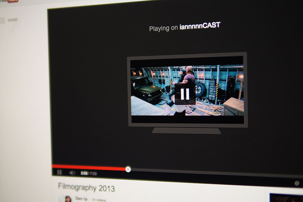 File:YouTube video from Dektop to Chromecast.jpg - Wikimedia Commons