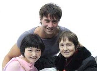 Yuko Kavaguti - Kavaguti/Smirnov with coach Tamara Moskvina