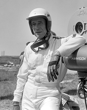Yves Montand - Yves Montand as Formula One driver Jean-Pierre Sarti in Grand Prix, 1966