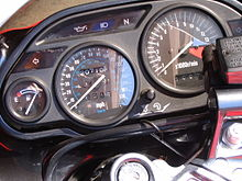 ZX6E Instrument Cluster With Fuel Gauge On The Bottom Left Kawasaki ZX 6 ZZR600