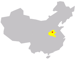 Zhengzhou in China.png