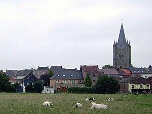 Herne, Belgium - Image: Zicht op Herne