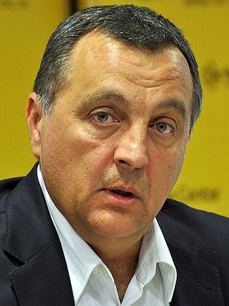 Zoran Živković (politician) - Image: Zoran Zivkovic MC Cropped