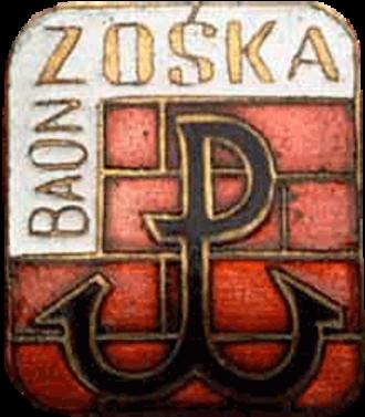 Battalion Zośka - Image: Zoska odzn bt