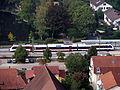 Zug am Bahnhof Staufen im Breisgau, pic1.JPG