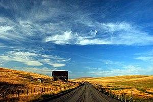 Zumwalt, Oregon - Image: Zumwalt Prairie (Wallowa County, Oregon scenic images) (wal DA0139)