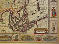 """Asiae Nova Descriptio,"" by P. Kaerius, 1614 - southeast.jpg"