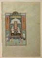 """Bahram Gur in the White Palace on Friday"", Folio 235 from a Khamsa (Quintet) of Nizami MET sf13-228-7-14.jpg"