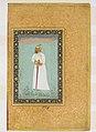 """Portrait of Ibrahim 'Adil Shah II of Bijapur"", Folio from the Shah Jahan Album MET DP159395.jpg"