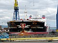'Stena Primorsk' in dry dock, Belfast - geograph.org.uk - 1393345.jpg