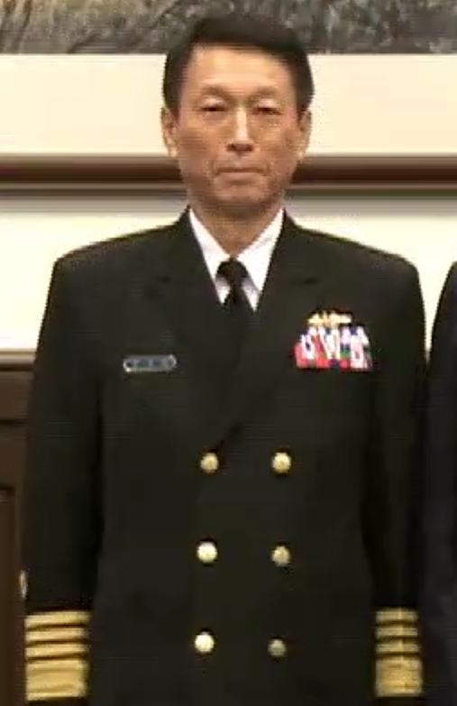(Cropped) Promotion of Lee Hsi-ming to Admiral 李喜明晉任海軍上將 (20150130 總統主持國軍重要幹部晉任布達授階典禮)