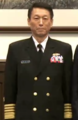 (Cropped) Promotion of Lee Hsi-ming to Admiral 李喜明晉任海軍上將 (20150130 總統主持國軍重要幹部晉任布達授階典禮).png