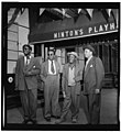 (Portrait of Thelonious Monk, Howard McGhee, Roy Eldridge, and Teddy Hill, Minton's Playhouse, New York, N.Y., ca. Sept. 1947) (LOC) (4843753254).jpg