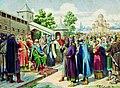 «Чтение народу Русской Правды в присутствии великого князя Ярослава».jpg