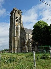 Écoust-Saint-Mein - Eglise - 1.JPG