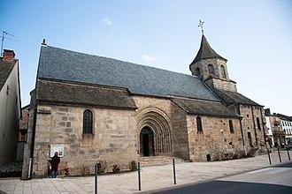 Bourg-Lastic - Saint-Fargheon church.