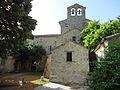 Église Saint-Martin-les-Eaux, clocher-mur.JPG