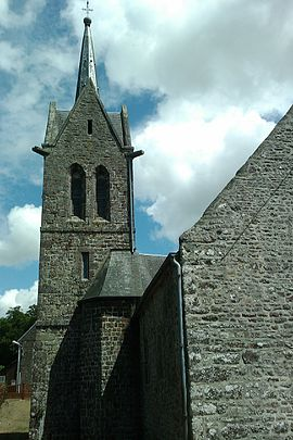 Église Saint-Pierre de La Baleine - Clocher.jpg