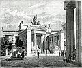 Το εσωτερικό προπύλαιο στην Ελευσίνα, όπως ήταν στην αρχαιότητα Μ - Falke Jacob Von - 1887.jpg