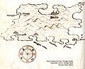 Χάρτης της νήσου Παγκ στην Κροατία - Antonio Millo - 1582-1591.jpg