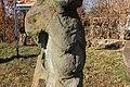 Історико-культурний комплекс 700-річний Запорозький дуб Статуя з пупковою грижею.JPG