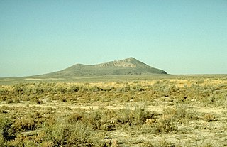 Pahvant Butte butte in Millard County, Utah, United States