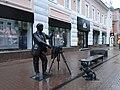 Большая Покровская ул. Скульптура фотографа - panoramio.jpg