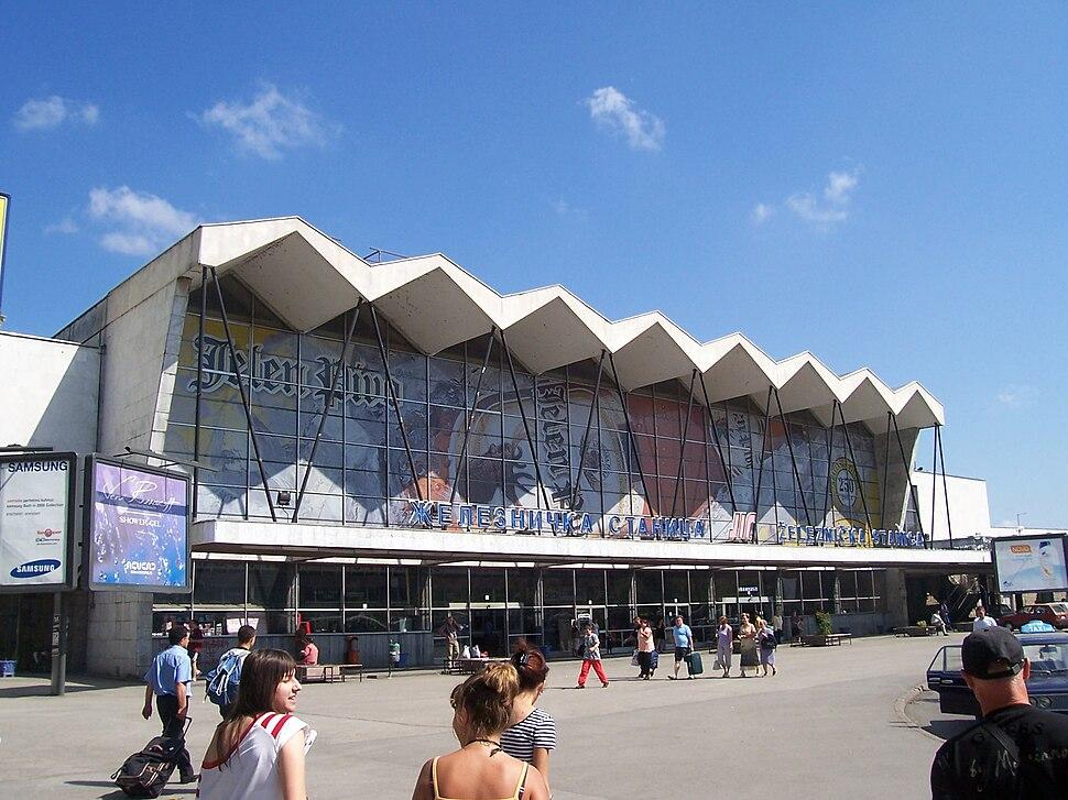 Вокзал города Нови-Сад