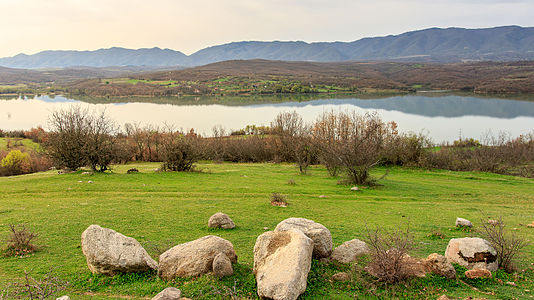 Mantovo Lake in Macedonia