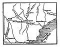 Карта к статье «Коссариа». Военная энциклопедия Сытина (Санкт-Петербург, 1911-1915).jpg