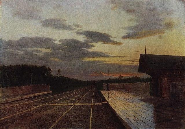 «Вечер после дождя», 1879