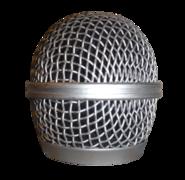 """Микрофонная решётка (""""корзина""""), защищающая капсюль микрофона от ветра (задувания)."""