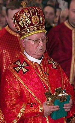 Владика Михаїл в Катедральному соборі Тернополя, квітень 2006