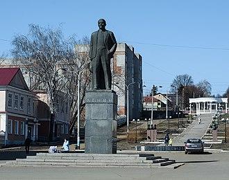 Mordovia - Image: Памятник Ленину. Рузаевка
