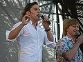 Ревва и Рожков на концерте в Донецке 6 июня 2010 года 001.JPG