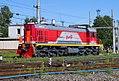 ТЭМ18В-022, Россия, Санкт-Петербург, станция Санкт-Петербург-Товарный-Московский (Trainpix 138920).jpg