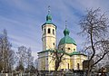 Церковь Иоанна Богослова. Вид с левой стороны кладбища через деревья.jpg