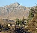 ایستگاه راه آهن نور آباد و شهیاز بلند ترین قله استان مرکزی با 3338 مترارتفاع - panoramio.jpg