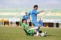 بازی فوتبال بین دو تیم فولاد ویان و صبا باتری قم در ورزشگاه یادگار امام شهرقم 35.jpg