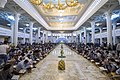عکس های مراسم ترتیل خوانی یا جزء خوانی یا قرائت قرآن در ایام ماه رمضان در حرم فاطمه معصومه در شهر قم 28.jpg