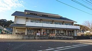 railway station in Hyuga, Miyazaki Prefecture, Japan