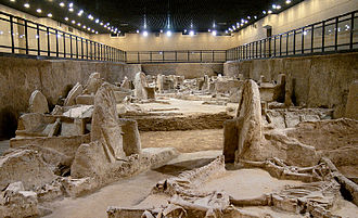 Luoyang - Museum of Luoyang Eastern Zhou Royal Horse and Chariot Pits