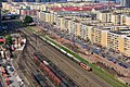 巡道工出品 photo by Xundaogong——滨江新城楼顶看火车 Look trains on the top of Binjiang xincheng - panoramio.jpg