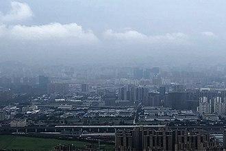Gongshu District - Gongshu District, as seen from top of the Banshan Mountain