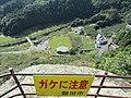 獅子ケ鼻岩先端から下の景色 - panoramio.jpg