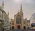 -2019-01-12 Norwich Cathedral viewed from Erpingham Gate.JPG