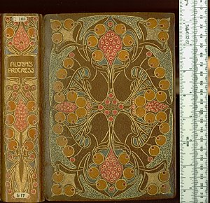 Guild of Women-Binders - An edition of The Pilgrim's Progress produced by the Guild of Women Binders, held at the British Library. Likely bound by Gwladys Edwards.