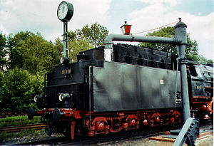 German Steam Locomotive Museum - Image: 01118+Wasserkran DDM