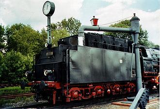 German Steam Locomotive Museum - Image: 01118+Wasserkran DDM